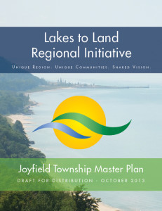 Joyfield Master Plan | Lakes to Land Regional Initiativejoyfield township